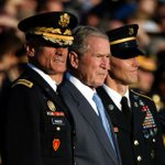 Bush takes veiled swipe at Trump, defends immigration and trade
