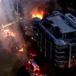 Firefighter in critical condition after 5-alarm blaze in Humber Bay