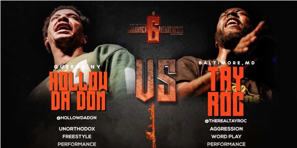 #Poll @hollowdadon VS @TheRealTayRoc SMACK/ URL RAP BATTLE |@urltv https://t.co/vsCUiv8KMc https://t.co/9NrRDw0ZIj