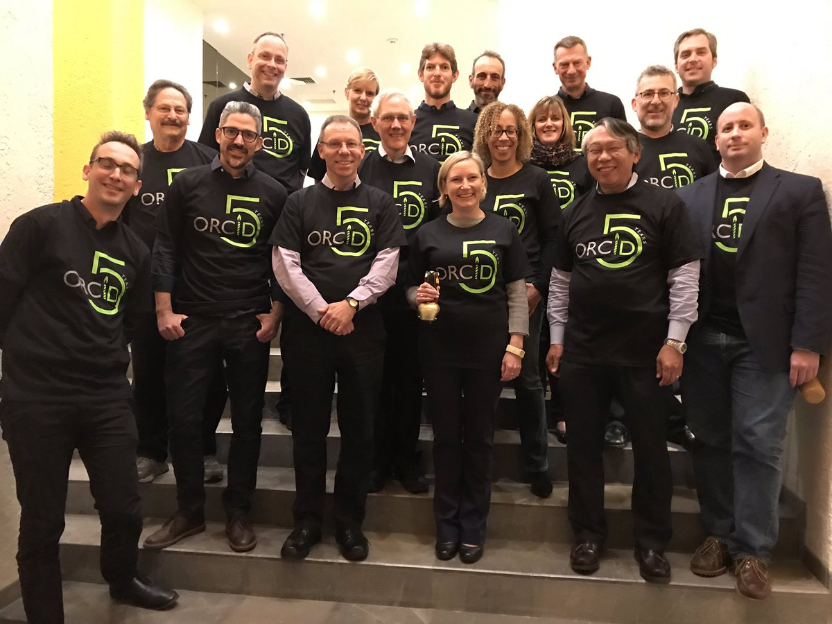 test Twitter Media - ORCID Board & staff in our #ORCID5 teeshirts after this week's Board meeting in Mexico City! https://t.co/5v8PPcFpOe