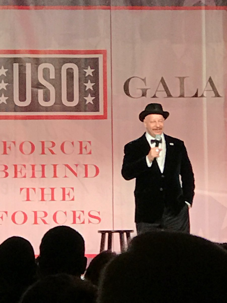 We're at #USOgala tonight and @realjeffreyross has just taken the stage to entertain attendees! https://t.co/SWhlc9pYrf