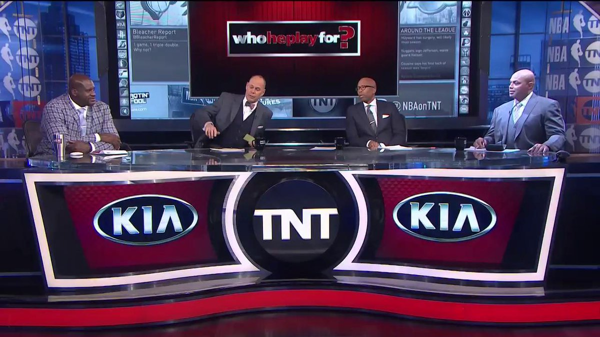RT @NBAonTNT: We'll give you ONE guess how Chuck did in the 18th annual #WhoHePlayFor?! https://t.co/YjdzLBXj1I