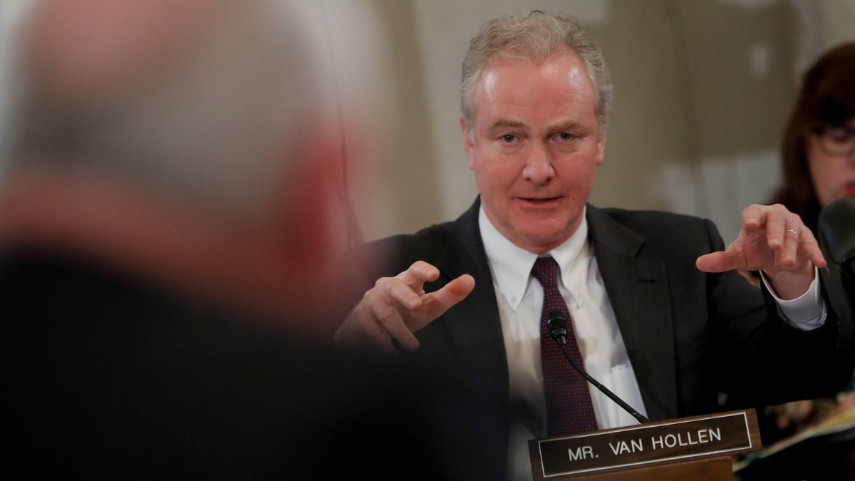 Van Hollen leads unsuccessful effort to preserve tax deduction popular in Maryland