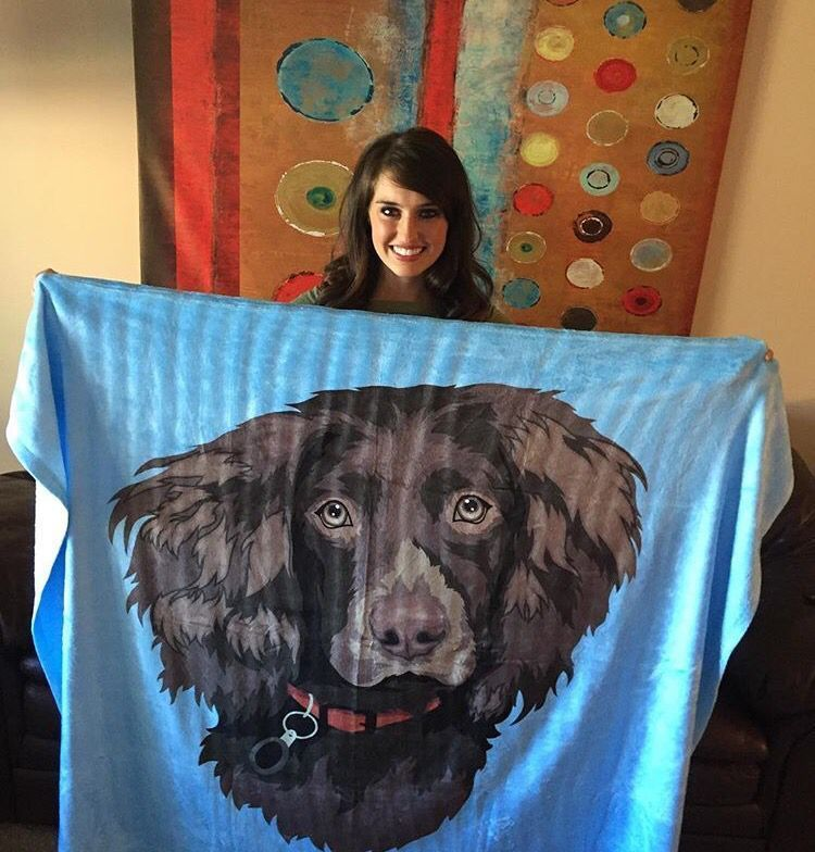 I would NEVER let go of this customized blanket ��  super soft and helps pets in need! Shop @ https://t.co/CtqjL6fOat https://t.co/wSGcD1LuUF
