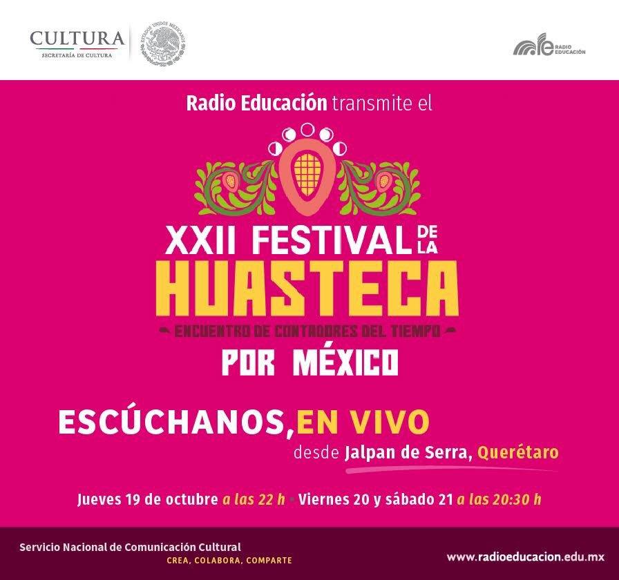 ¡Y no duerman, a las 22:00 hrs. nos vamos a la Huasteca, en vivo! https://t.co/AmQRZ1NBjj