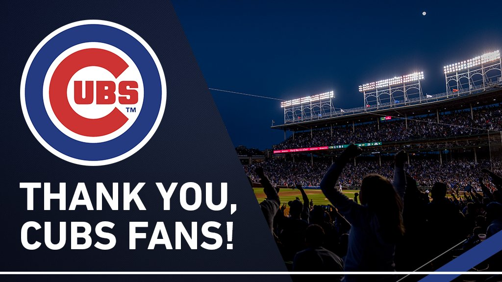 Thank you for your support throughout the season and another run to the #NLCS! https://t.co/YH12TqHnSo