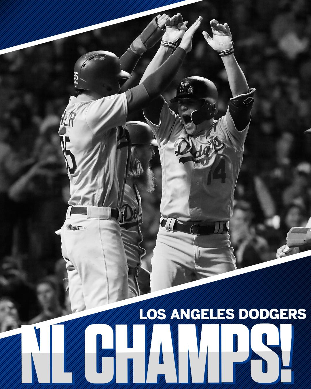 The 29-year wait is over.  The Dodgers are back in the World Series! https://t.co/rtAf5kASfr