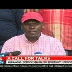 Narc-K Leader Martha Karua calls for talks between Uhuru, Raila