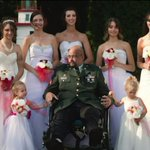 Father's dying wish to walk daughters down the aisle comestrue