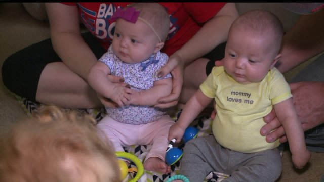 Ames Couple Meets First Responders Who Helped DeliverTwins