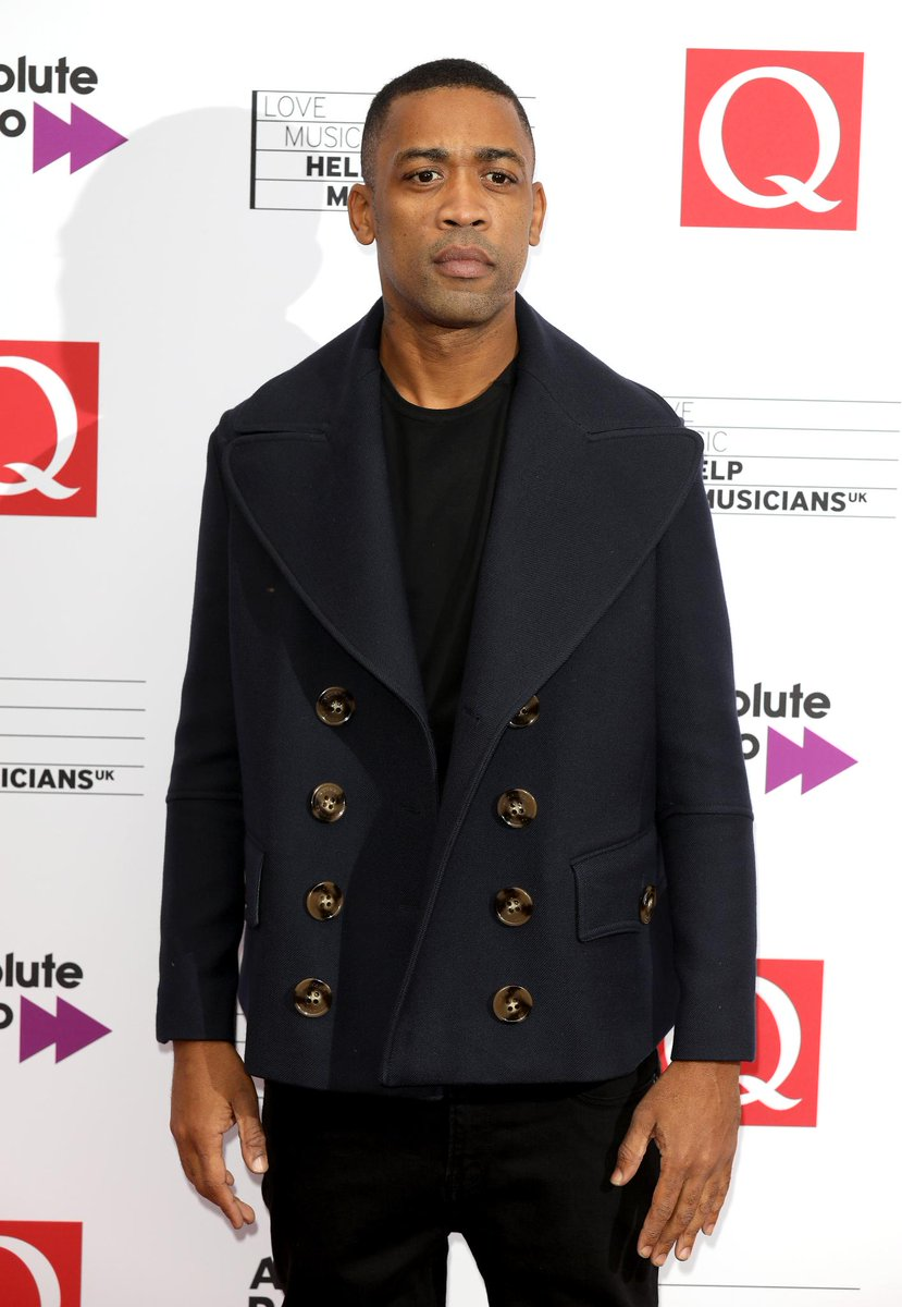 #QAwards winner @WileyUpdates wears a @Burberry coat to the event in London https://t.co/w58PWfdOyY