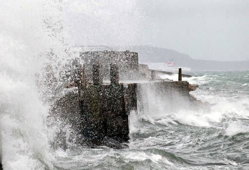 Country reeling from Storm Ophelia now on high alert for 'weather bomb'