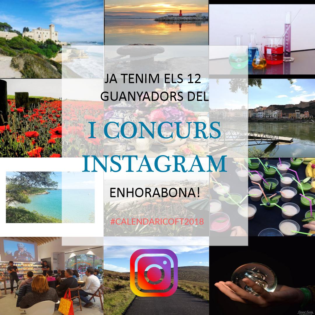 test Twitter Media - Ja tenim els guanyadors del I Concurs d'Instagram del COFT. Enhorabona a tots/es!! https://t.co/giXLyXL7Kf #calendariCOFT2018 #concurs #coft https://t.co/7imdxKmY9w