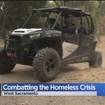 West Sacramento Police Ready To Go Off-Road To Help Homeless