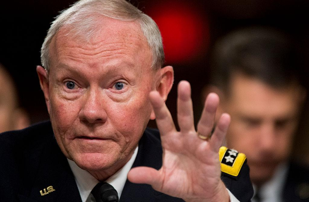The former chair of the Joint Chiefs of Staff has hit back at Trump for a slur about Obama