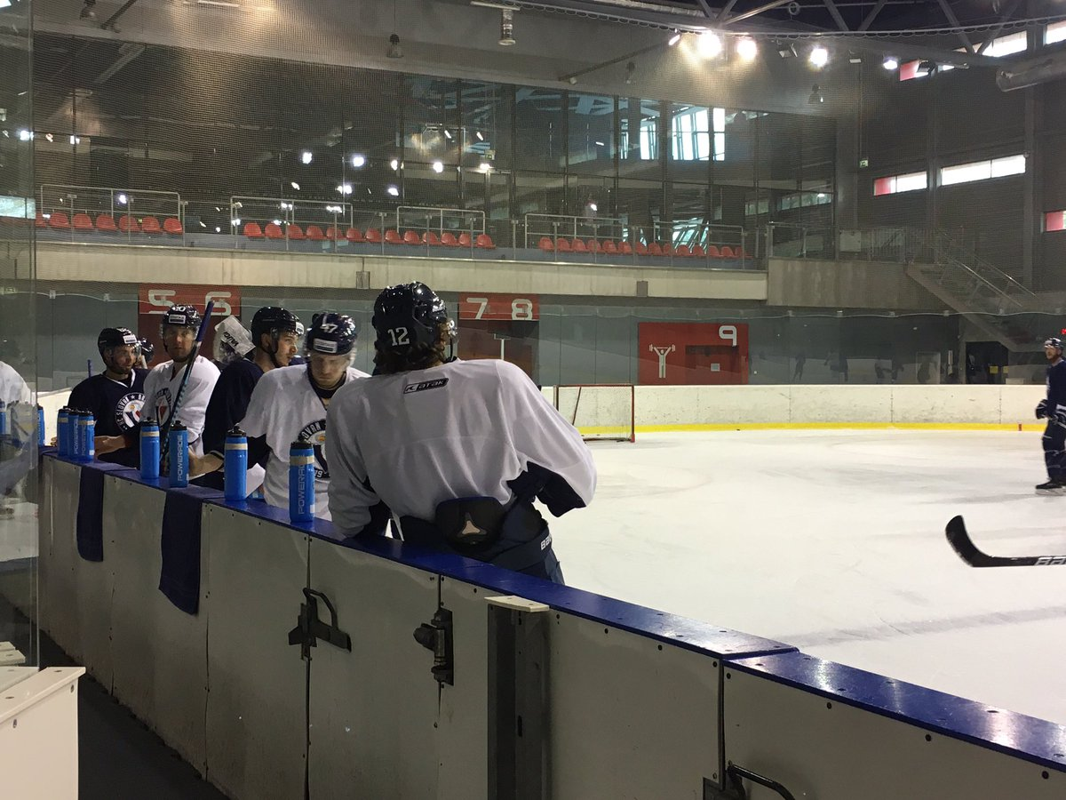 #BackHome #hcslovan is getting ready for home series! First game on Monday against @dynamo_ru https://t.co/dDjKJbeiyp