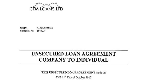 Warning over suspected loan scam