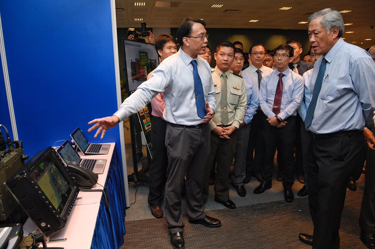 Network system that lets SAF troops mark enemy locations on real-time map wins defence award