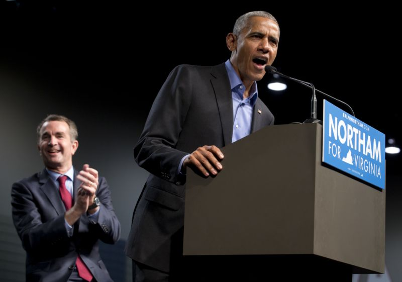 Obama makes a plea to Virginians and signals a way forward for Democrats