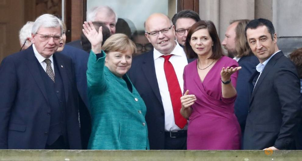 Jamaica or bust - Merkel launching crunch German coalition talks