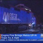 Train Full Of Cubs Fans Evacuated In Evanston After Engine Fire