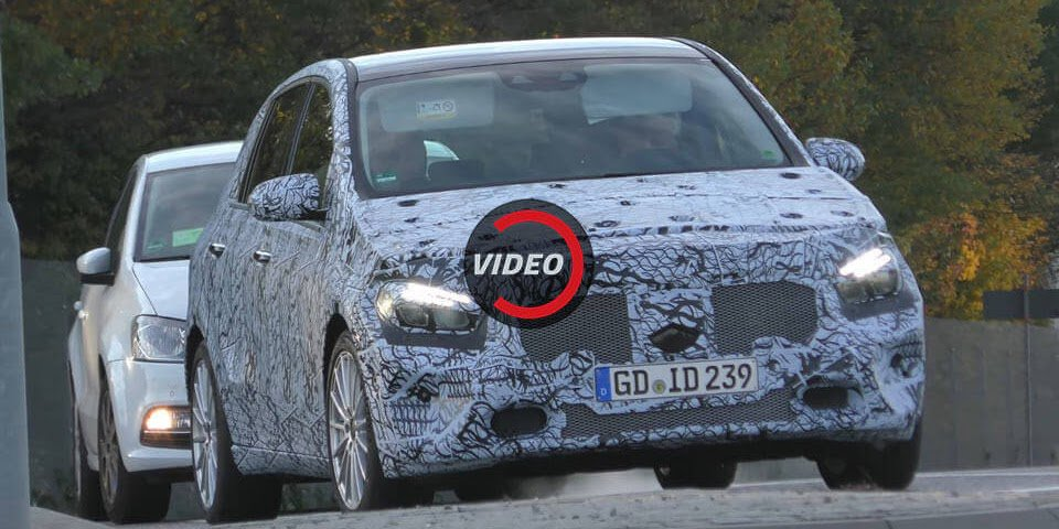 Mercedes-Benz Is Making A New 2019  B-Class Too