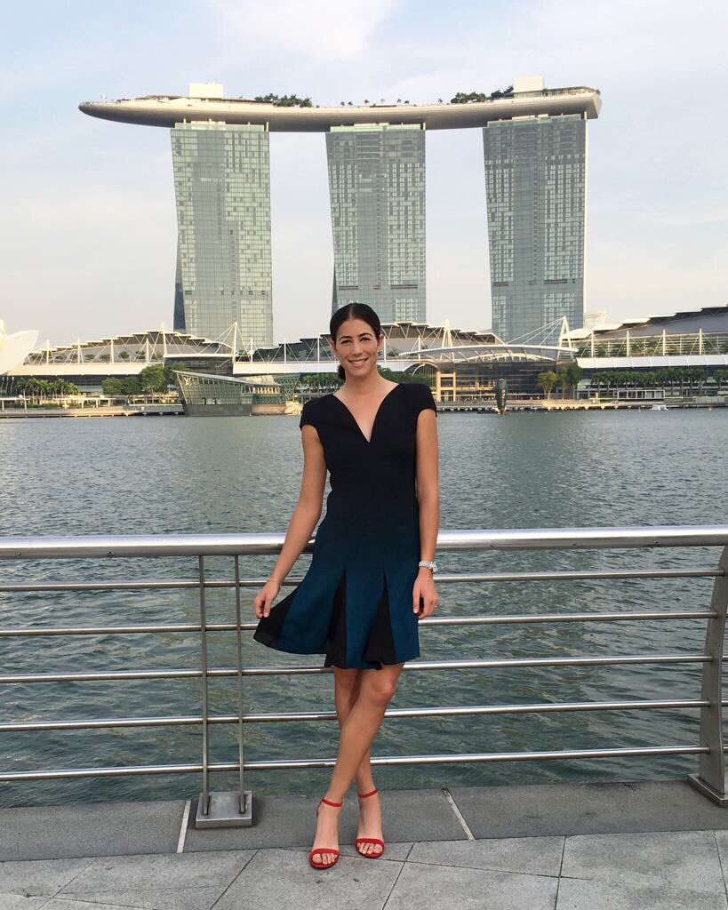 @Versace x Singapore ��  @marinabaysands #WTAFinalsxMBS https://t.co/PDhV0iI5zg