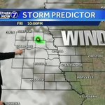 Very windy Friday, rain and storms likely Saturday
