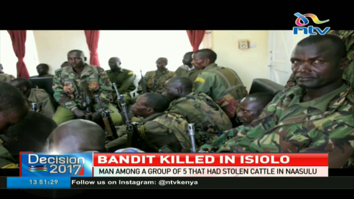 Bandit killed in Isiolo