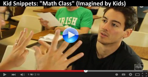 Kid Snippets: Math Class https://t.co/qbUPrfn9Ab So Funny and one of the best that Kid Snippets have ma #video 2 https://t.co/ChPrQ40uxT