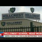 Hilcrest school head murdered