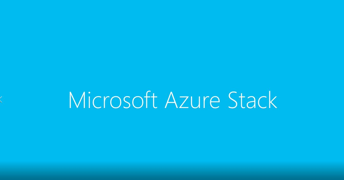 "test Twitter Media - ""Azure Stack addresses the market for private cloud services with public cloud capabilities"" @Microsoft Azure Stack https://t.co/zi57KQalNm https://t.co/u2fIVg6Ebd"