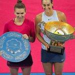 Tennis. Masters: Caroline Garcia dans le groupe de la n°1 mondiale Simona Halep