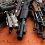 Assault rifles part of 10,000 guns and related items handed in during amnesty