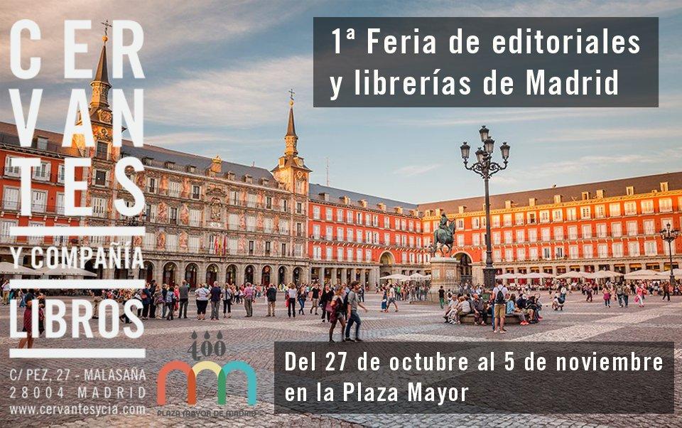 test Twitter Media - Ya queda menos para que empiece la Feria de editoriales y librerías en la Plaza Mayor de Madrid. Os esperamos con nuestros mejores clásicos. https://t.co/0YLFGm4Et7