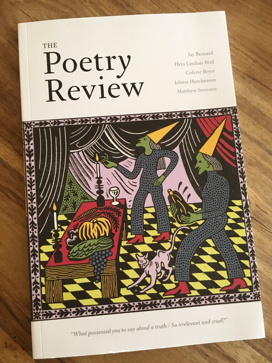 test Twitter Media - RT @elainefeeney16: Great to see new Matthew Sweeney work & Colette Bryce in @PoetrySociety #thepoetryreview https://t.co/kqFZ18CoU6