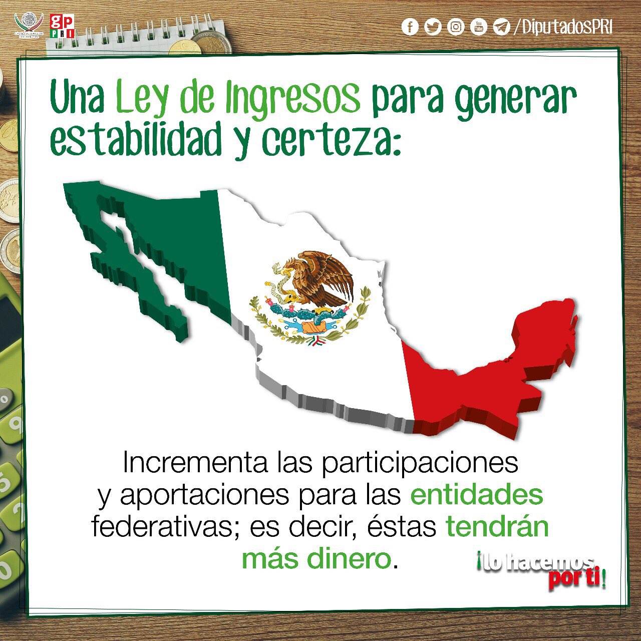 Sin crear impuestos la #LeyDeIngresos2018 se aprueba y pasa al @senadomexicano  @DiputadosPRI https://t.co/HHZRV0Humq