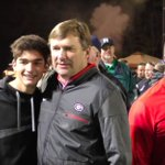 WATCH: Georgia coach Kirby Smart roams the sidelines as he watches QB Justin Fields