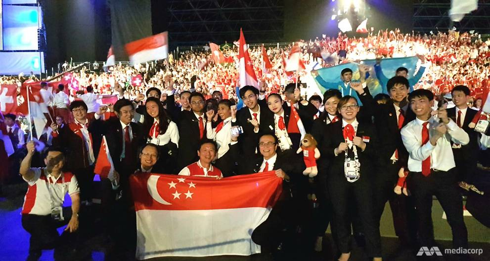 Singapore win two gold, three bronze medals at WorldSkills 2017