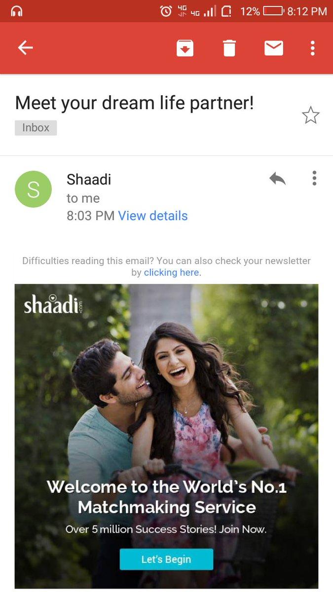 test Twitter Media - @ShaadiDotCom are bhai apni biwi ko talak du kya tumhare dream partner ke chakkar me..kya mere peche pde ho..mera ghar barbad karoge kya https://t.co/FClclwxq2Q