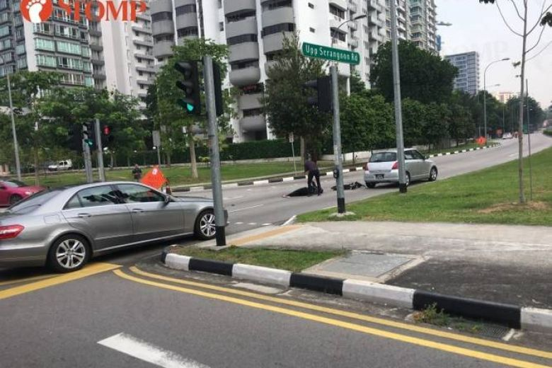 Woman on e-scooter suffers head injuries after accident with car