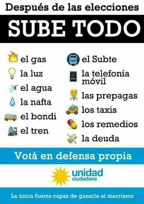El Domingo vota en defensa propia #Suma2Votos  #UnidadCiudadana https://t.co/hvfi3P4ZP3