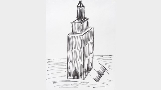 Trump drawing of Empire State Building sells for $16,000