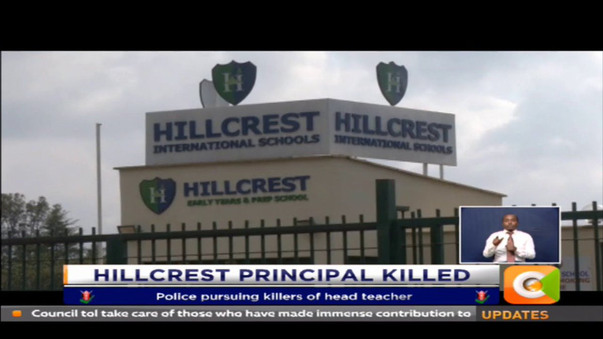 Hillcrest head teacher - an Australian, killed in Karen