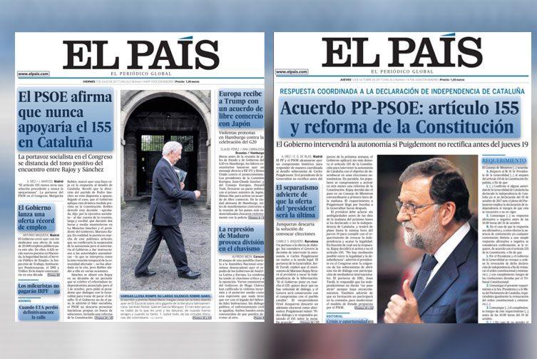 RT @publico_es: La credibilidad del nuevo PSOE en dos portadas de 'El País' https://t.co/oW9UngbP8Z https://t.co/vSGNbVyTAo