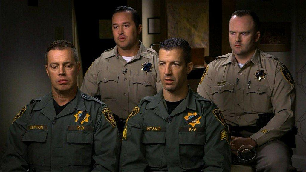 Las Vegas police officers describe storming gunman'sroom