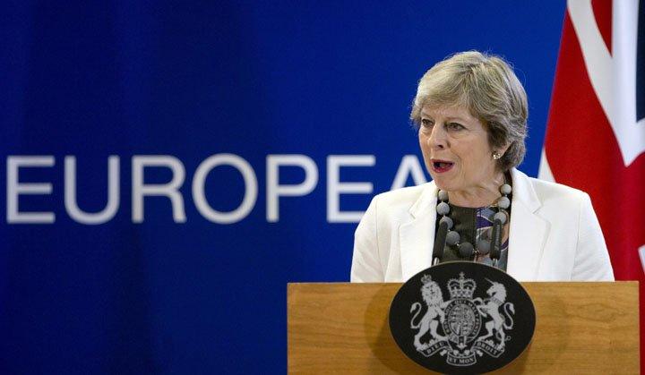 @BroadcastImagem: UE e Reino Unido têm trabalho pela frente antes de acordo sobre Brexit, diz May. Virginia Mayo/AP
