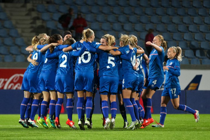 Iceland Beats Germany In World Cup Qualifying