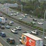 Man injured after two-vehicle crash blocks M1, causes 10km northbound delays