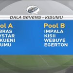 Kenya Rugby Union conducts another draw after teams withdraw from Dala Sevens